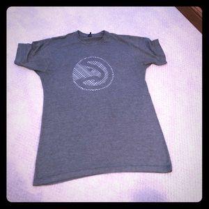 Hawks gray t-shirt size M